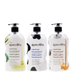 A set of natural ECO soaps 3x 650 ml