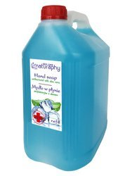 Antibacterial liquid soap with aloe 5L