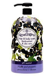 Currant shower soap with aloe vera 1L