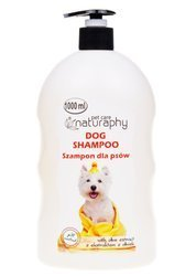 Dog shampoo with olive extract 1L