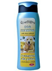 Dog shampoo with olive extract 300 ml
