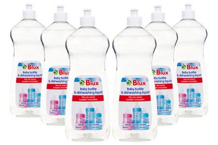 A set of liquids for washing bottles and teats 6x 1L