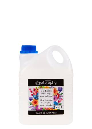 Antibacterial hand gel canister 2L