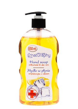 Antibacterial liquid soap lemon with aloe 650 ml