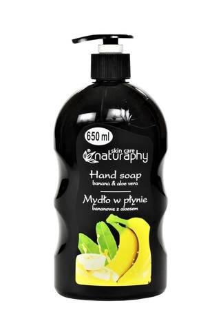 Banana liquid soap with aloe 650 ml