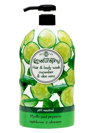 Cucumber shower soap with aloe 1L