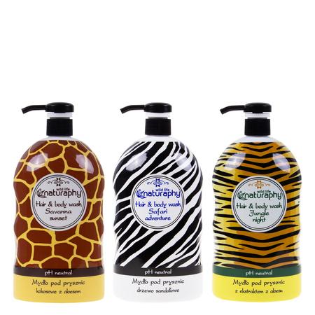 Jungle shower soap set 3x 1L