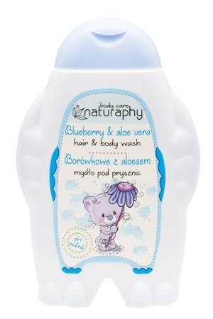 KIDS blueberry shower soap with aloe vera 300 ml