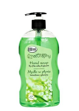 Lily of the valley liquid soap with glycerin 650 ml