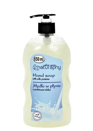 Liquid soap with milk proteins 650 ml