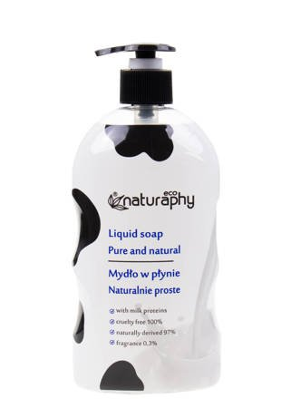 Natural ECO liquid soap with milk proteins 650 ml