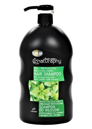 Revitalizing and reducing greasy hair shampoo for oily and normal hair with nettle leaf extract 1L