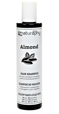 Shampoo for colored and bleached hair with rice and almond extracts 250 ml