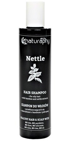 Shampoo for greasy hair with bamboo and nettle extracts 250 ml