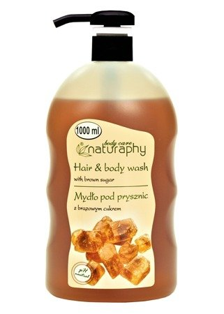 Shower soap with brown sugar 1L