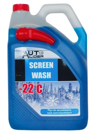 Winter washer fluid with a funnel -22 ℃, canister 5L