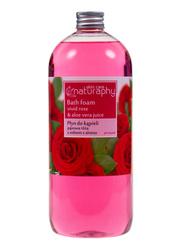 Płyn do kąpieli pąsowa róża z aloesem 1L