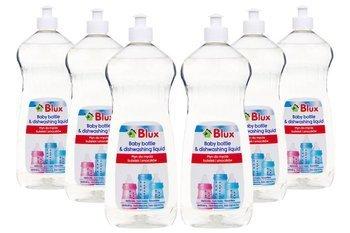 Zestaw płynów do mycia butelek i smoczków 6x 1L
