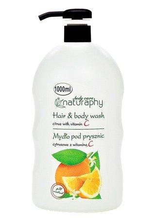 Mydło pod prysznic cytrusowe z witaminą C 1L