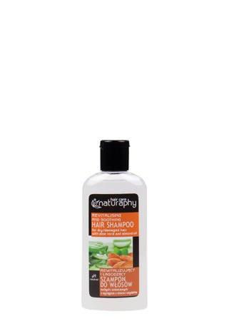 Szampon do włosów suchych i zniszczonych z wyciągiem z aloesu i migdałów 100 ml