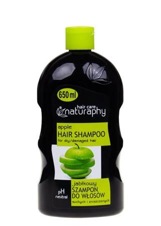 Szampon jabłkowy do włosów suchych i zniszczonych 650 ml